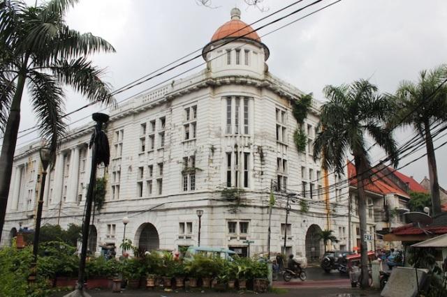 Dilapidated Buildings in Kota Tua