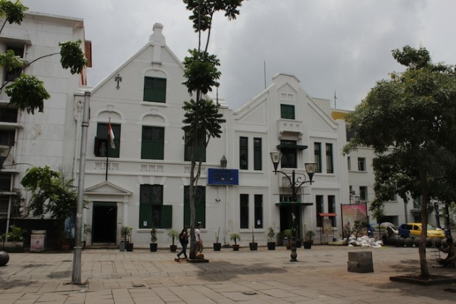 The Wayang Museum, formerly the Old Batavia Museum (1912).