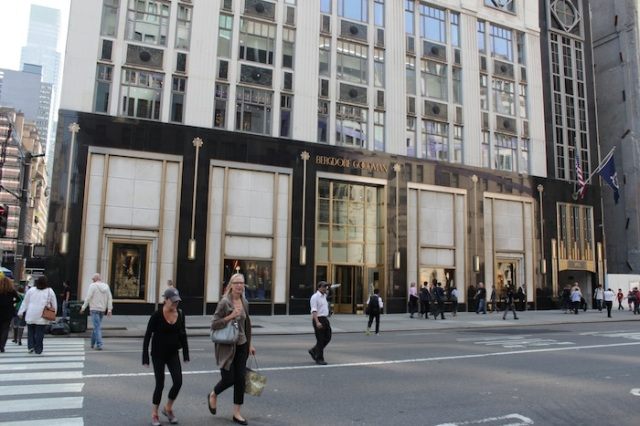 24 – They take their conversation and their credit cards over to Bergdorf Goodman, where they pick up a couple pairs of shoes.