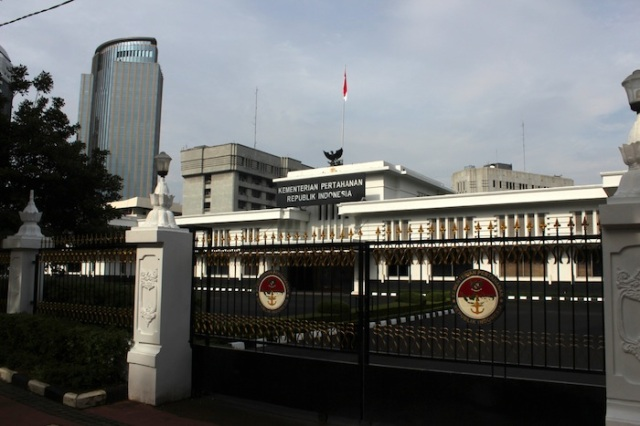 Ministry of Defence, Merdeka Square.