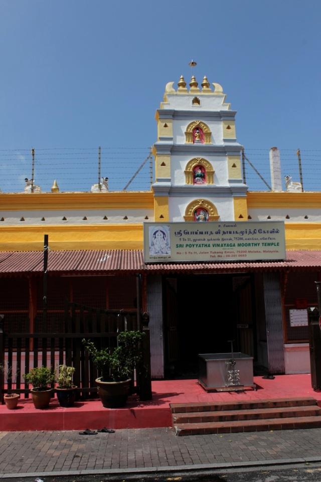 Sri Poyyatha Vinayagar Moorthi Hindu Temple, Jalan Tokong.