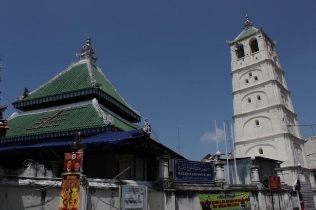 Kampung Kling Mosque, Jalan Tokong.
