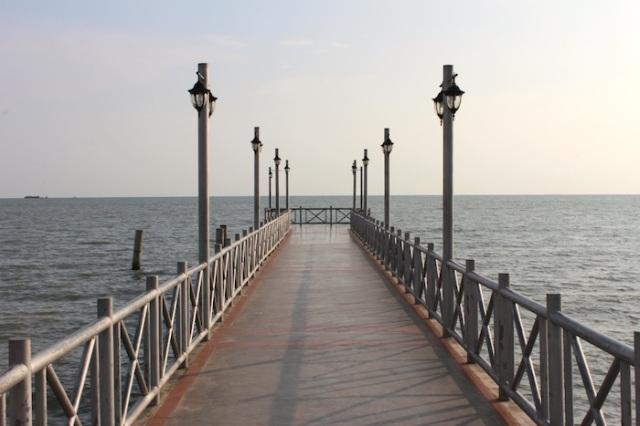 Pier at the Portuguese Settlement