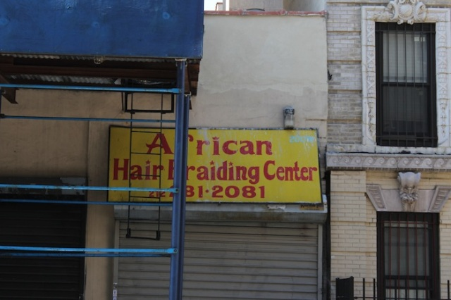 12 – African Hair Braiding Center.