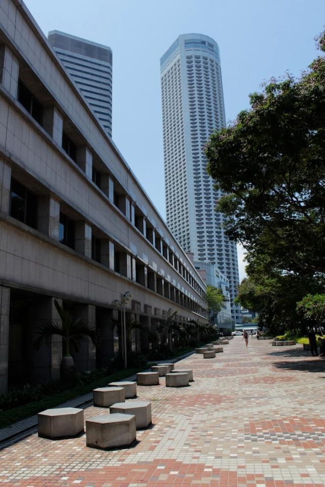 View towards Raffles City