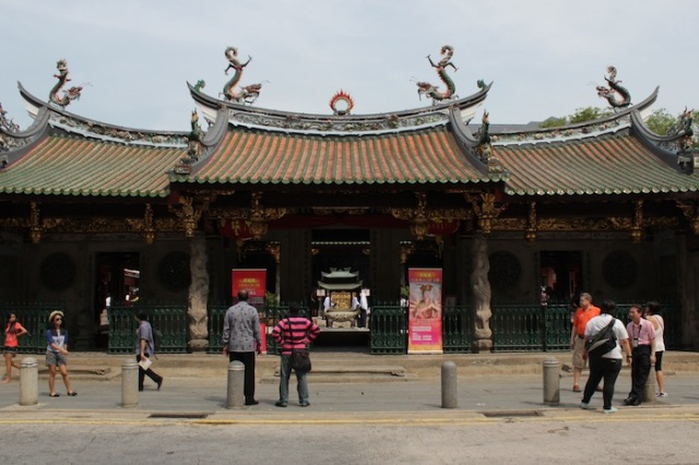 Thian Hock Keng Temple (1842), the oldest Chinese temple in Singapore.