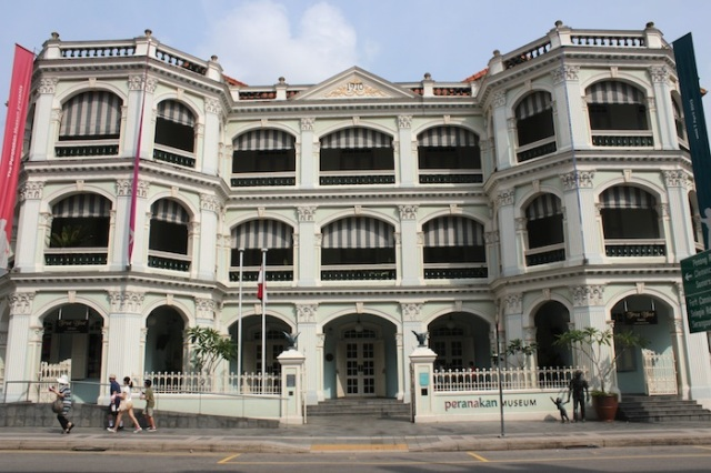 The former Tao Nan School, now The Peranakan Museum