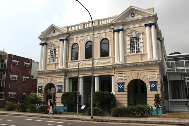 The Masonic Building.