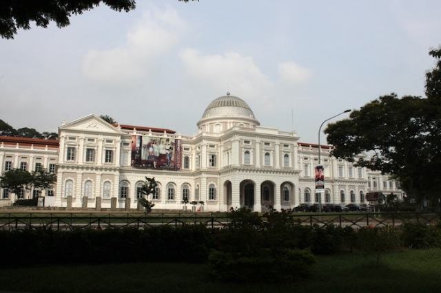 The former Raffles Museum and Library, now the National Museum of Singapore