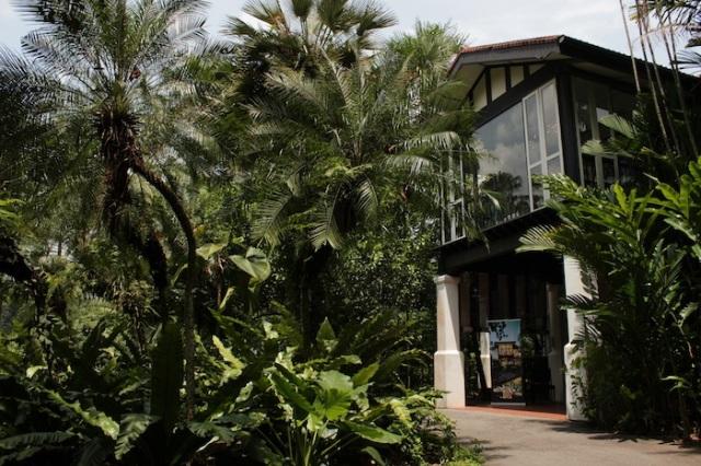 Colonial black and white, Singapore Botanic Gardens