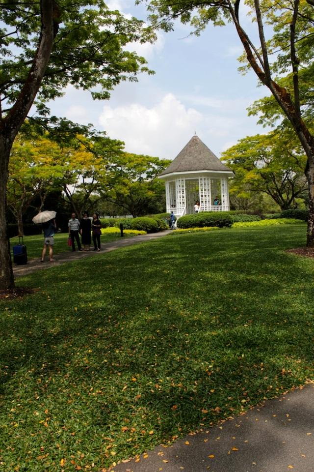 The iconic Bandstand, Singapore Botanic Gardens