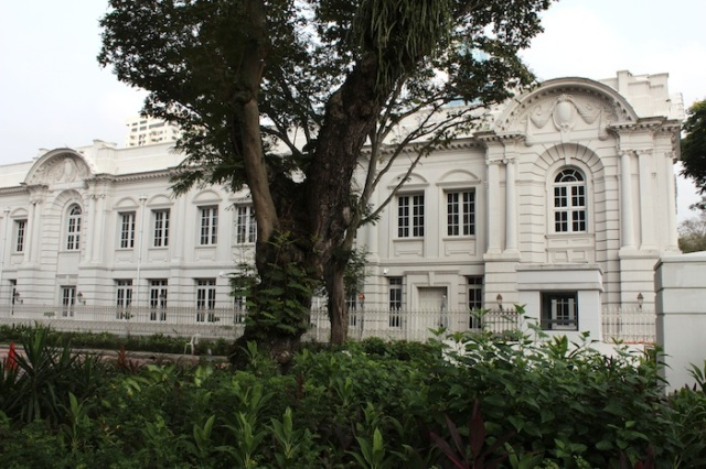 The former Parliament Building
