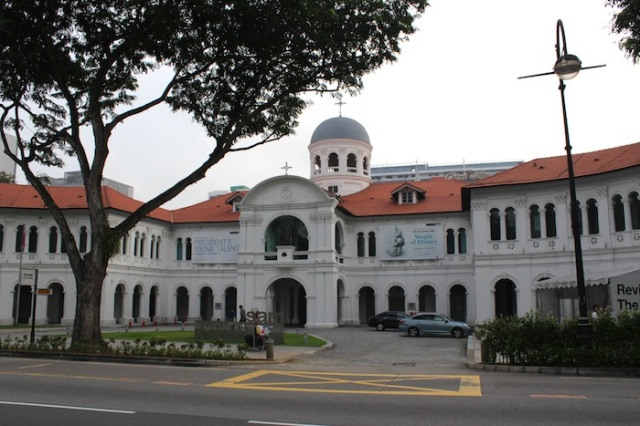 The former St Joseph's Institution (1855), now the Singapore Art Museum.