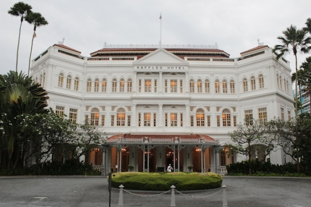 The Raffles Hotel - Grand Dame? I'm not so sure.