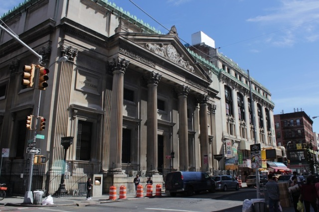 23 – Former Bowery Savings Bank.
