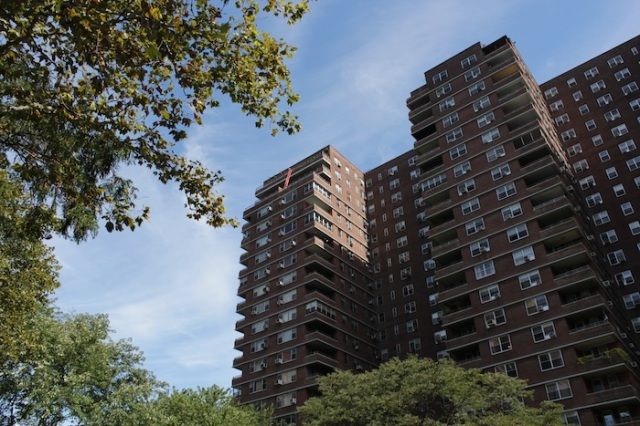 46 – East River Houses, overlooking FDR Drive.