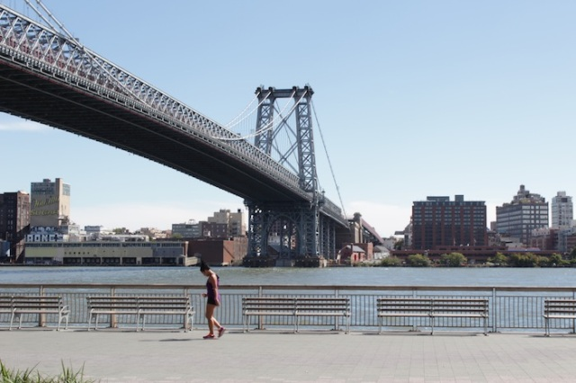 View across the East River to Williamsburg, Brooklyn – my home, and the end of my year-long journey.