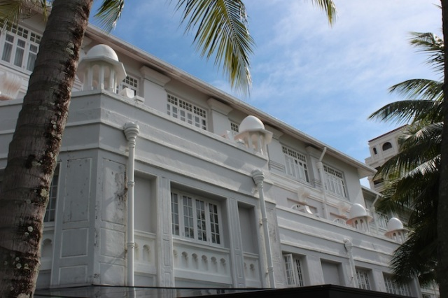 Facade of the Eastern & Oriental Hotel, Penang