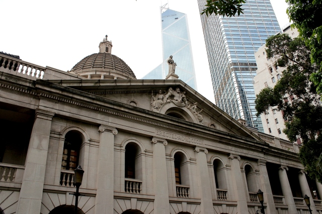 The Old Supreme Court Building (1912) - the very heart of Hong Kong.