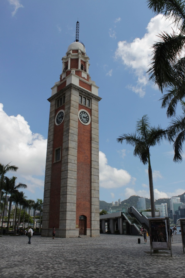 The Former Kowloon-Canton Railways Clocktower (1915).  the station itself, which was demolished, used to be linked to the Transiberian and was ultimately the terminus of a trans-asian train route.