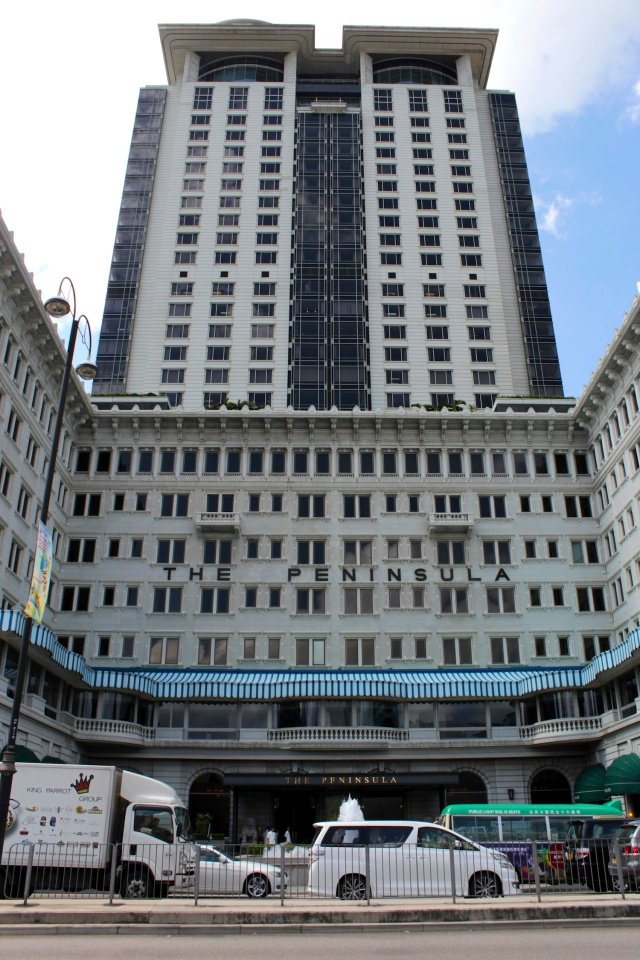 The Peninsula Hotel (1928) - Hong Kong's Grande Dame of hospitality.