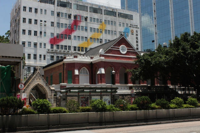 The Former Kowloon British School (1902), Nathan Road.  Today it holds the Antiquities and Monuments Office.
