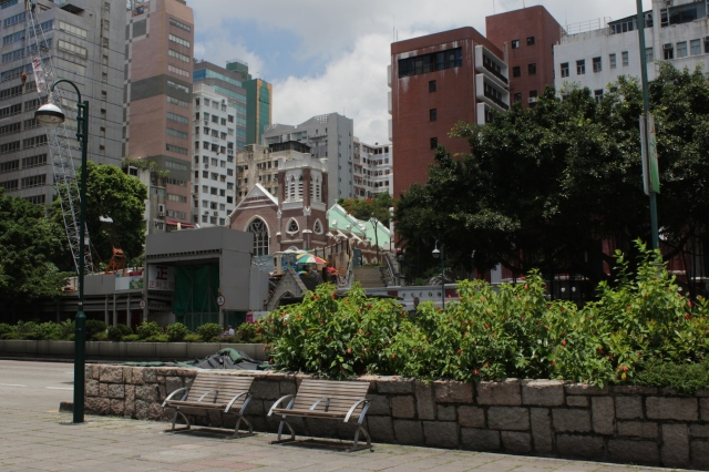 St Andrew's Church (1904), on Nathan Road.