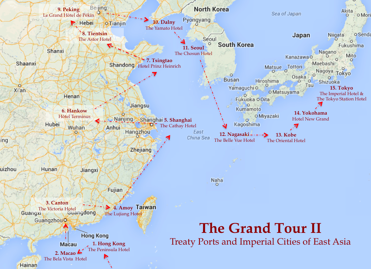The Grand Tour II   Treaty Ports And Imperial Cities Of East Asia
