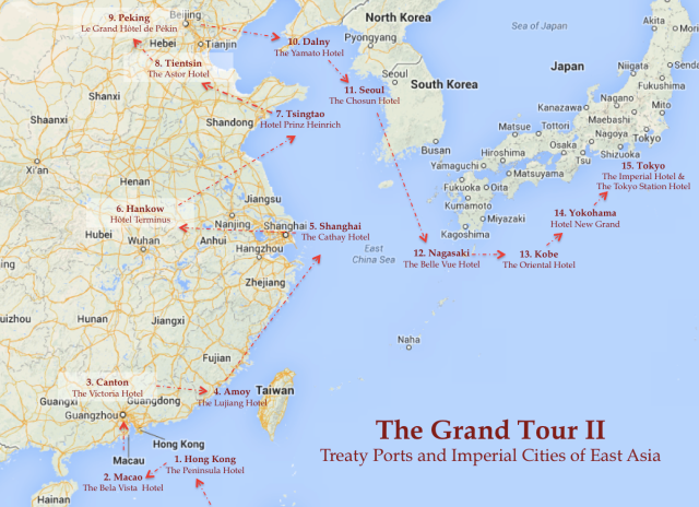 The Grand Tour II - Treaty Ports and Imperial Cities of East Asia