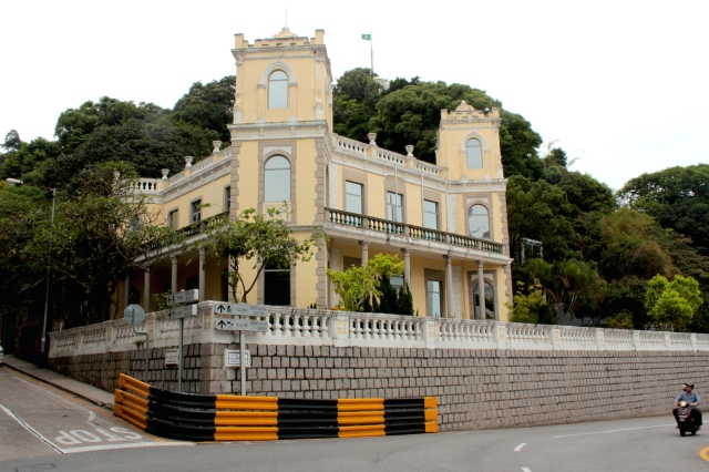 The Former Residence of Silva Mendes today houses the United Nations University International Institute of Software Technology.