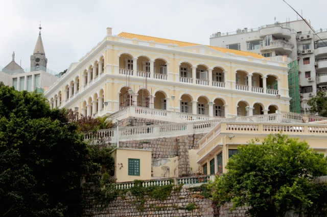 The former Bela Vista Hotel - Macau's Grande Dame - is presently the residence of the Portuguese Consulate General.