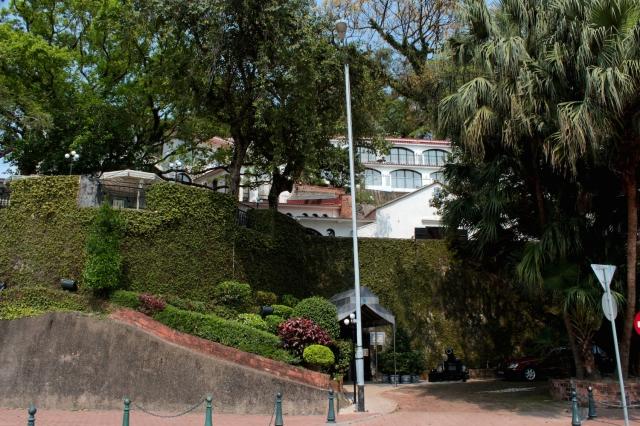 Finally, at the southern tip of the Avenida da Republica, and of the Macau Peninsula itself, is the former Fortaleza de São Tiago da Barra, built in the 1600s to defend Macau.  It has been transformed into the exquisite Pousada de São Tiago.