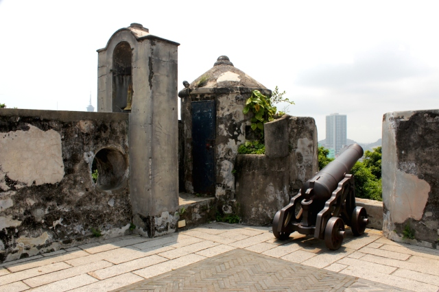 The Mount Fortress was built in 1626 and was the city's principal defence structure.  Today it houses the Macau Museum.