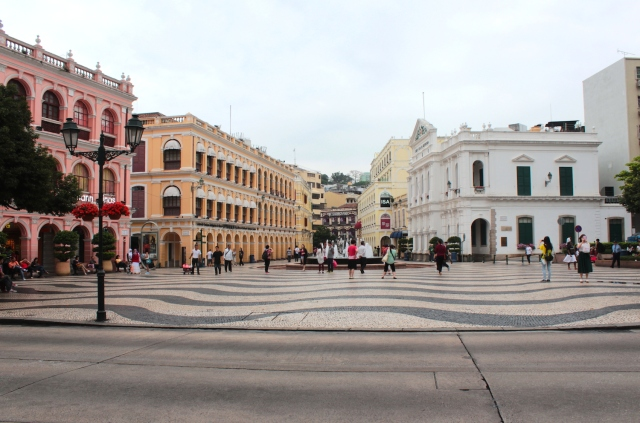 Senado Square is the heart of historic Macau.