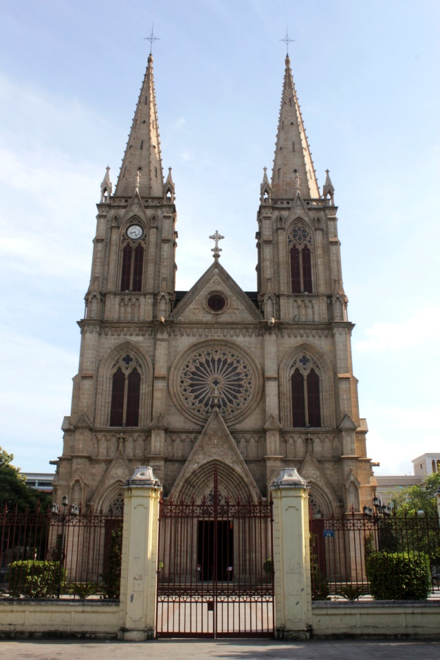 Sacred Heart Cathedral (1863).
