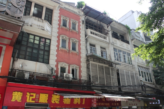 More shophouses in the 13 Factories area.