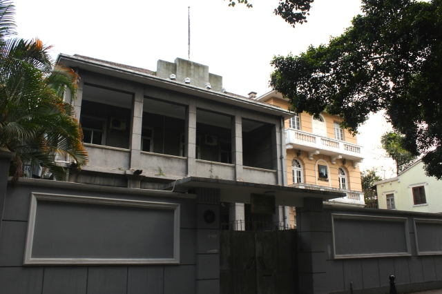 The former Czech Consulate.