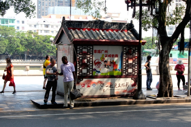 Africans in the new global city of Guangzhou.