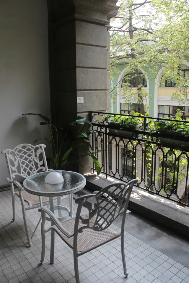 The balcony to my room.