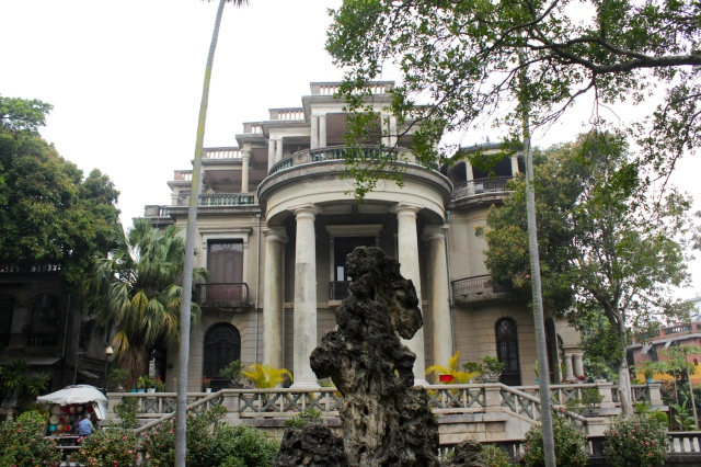 The Huang Rongyuan Mansion (1920) - one of the most historic and popular sites on the island today.