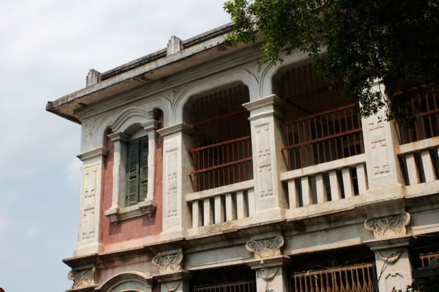 The former residence of Hsu Feiping, a famous Chinese-American pianist with links to Singapore. 許斐平故居