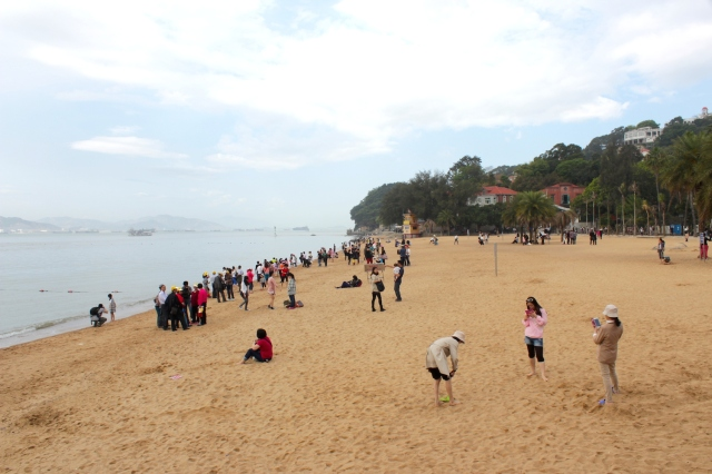 Gulangyu Beach.