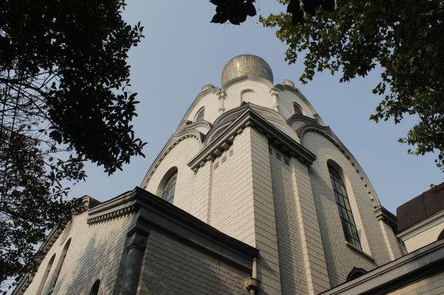 The St Nikolai Orthodox Church was built in 1934 to serve the religious needs of the White Russian community.