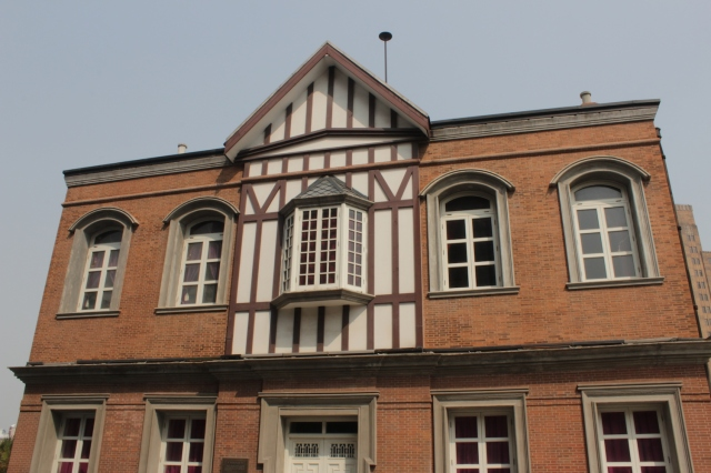 The former Shanghai Rowing Club was designed by Scott & Carter in an Edwardian style and erected in 1905.