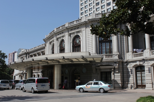 The former Cercle Sportif Francais, opened in 1926.  today it is the lobby of the Okura Garden Hotel.  The Cercle Sportif was the equivalent of the Cricket Club for the French.