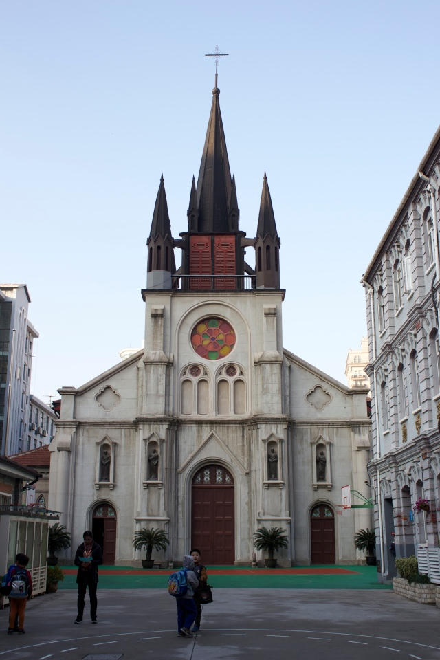 St Joseph's Church, built in 1862, is the oldest church in the Concession, older than the Xujiahui Cathedral.