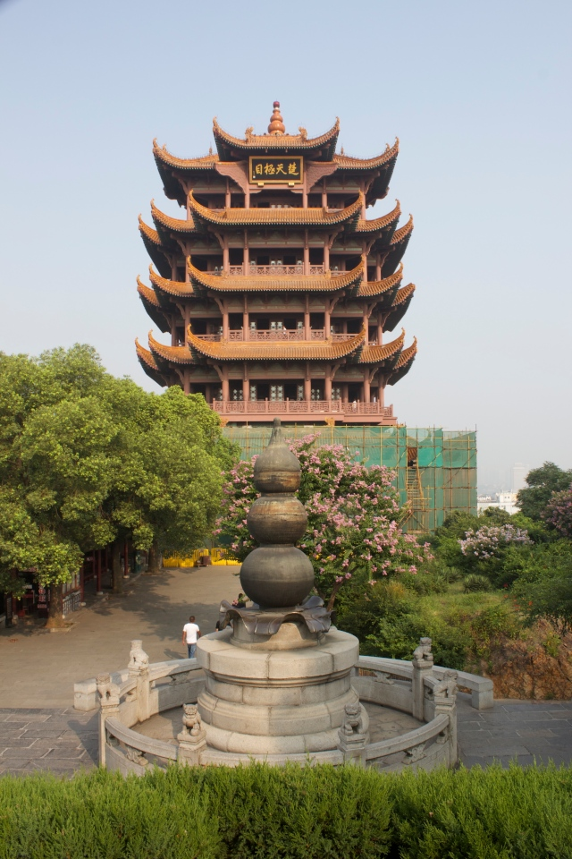 The Yellow Crane Tower (from 223 A.D., though this version was built in the 1900s).