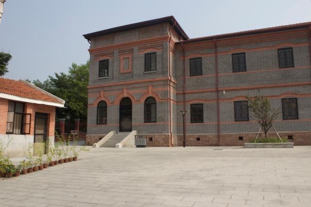 Rear Building