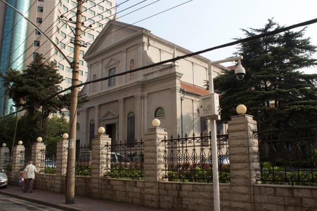 Catholic Church on Shanghai Street.