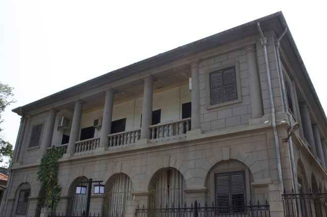 European residence, Tanhualin.